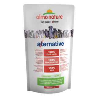 Almo Nature Dog Alternative Dry Food - Lamb and Rice