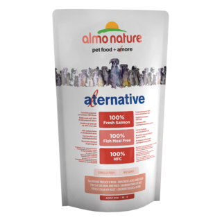 Almo Nature Dog Alternative Dry Food - Salmon and Rice