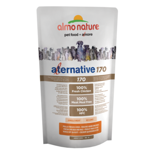 Almo Nature Dog Alternative 170 Dry Food - Chicken and Rice