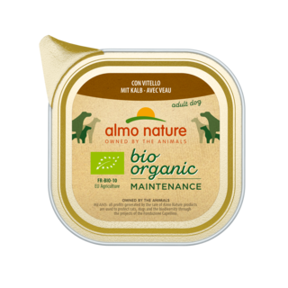 Almo Nature Dog Bio Organic Wet Food - 32 x 100g