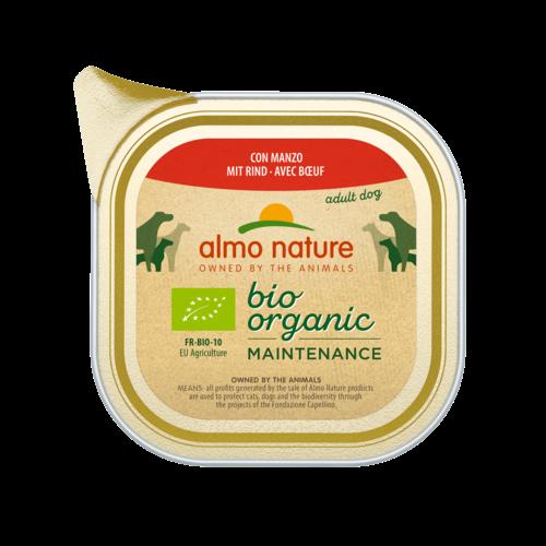 Almo Nature Almo Nature Hund Bio Organic Nassfutter - Maintenance - 32 x 100g