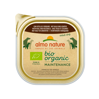 Almo Nature Dog Bio Organic Wet Food - 9 x 300g
