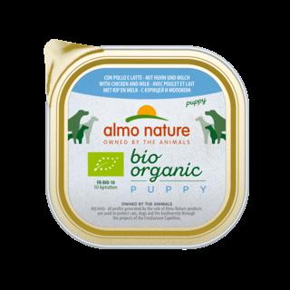 Almo Nature Hond Bio Organic Natvoer - Puppy 9 x 300g