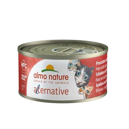 Almo Nature Almo Nature Katze Alternative Nassfutter - 24 x 70g