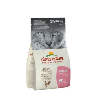 Almo Nature Cat Holistic Dry Food - Maintenance Kitten - with Chicken