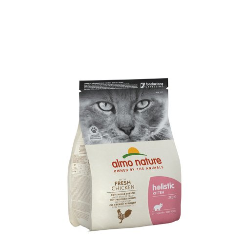 Almo Nature Almo Nature Cat Holistic Dry Food - Kitten - with Chicken