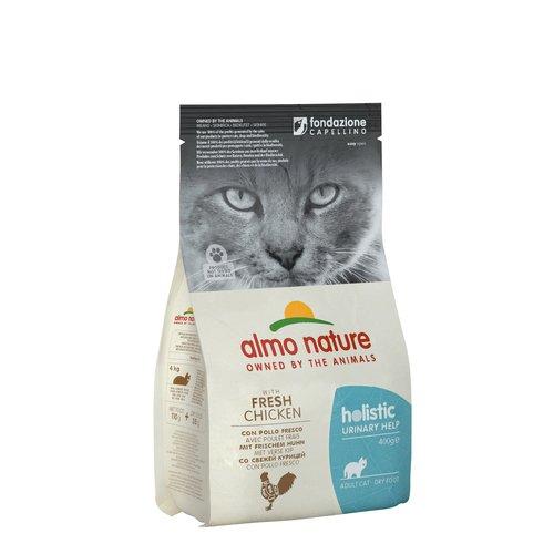 Almo Nature Almo Nature Katze Holistic Trockenfutter - Urinary Help - Huhn