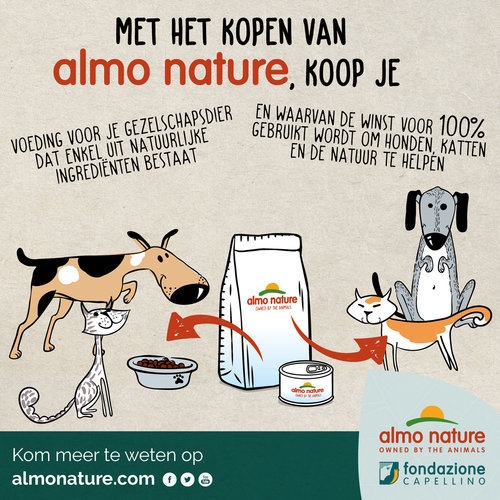 Almo Nature Almo Nature Cat Holistic Wet Food - Senior 7+ - 24 x 85g