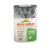 Almo Nature Almo Nature Kat Holistic Natvoer - Anti Hairball - Pouch - 30 x 70g