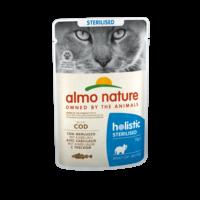 Almo Nature Almo Nature Katze Holistic Nassfutter - Sterilised - Pouch -  30 x 70g