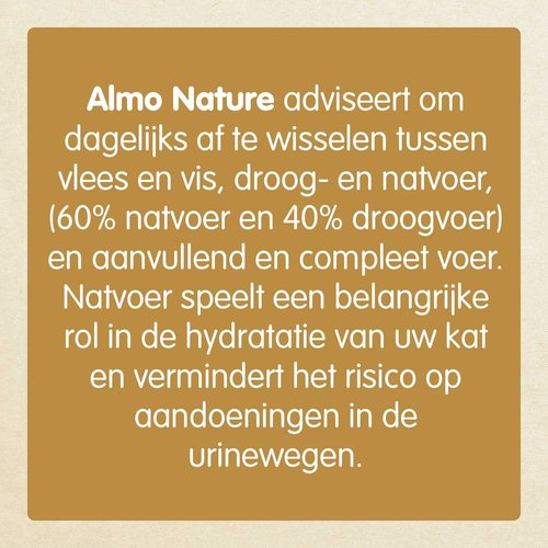 Almo Nature Almo Nature Katze Holistic Nassfutter - Urinary Help - Pouch - 30 x 70g