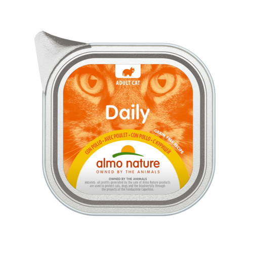 Almo Nature Almo Nature Cat Daily Menu Wet Food - 32 x 100g