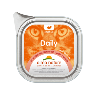 Almo Nature Kat Daily Menu Natvoer - 32 x 100gr