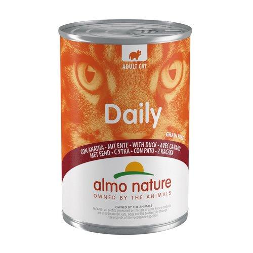 Almo Nature Almo Nature Kat Daily Menu Natvoer - Blik - 24 x 400g