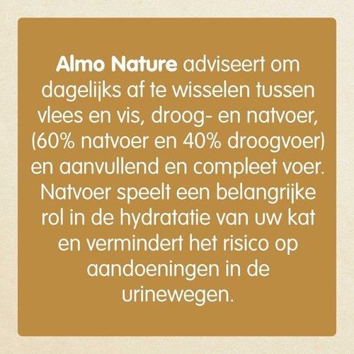 Almo Nature Almo Nature Kat Daily Menu Natvoer - Mousse & Blokjes - Blik - 24 x 85g