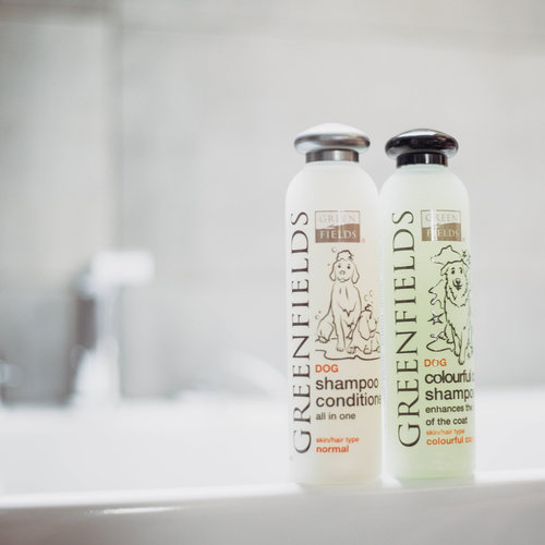 Greenfields Greenfields Hundeshampoo Farbiges Fell 250 ml