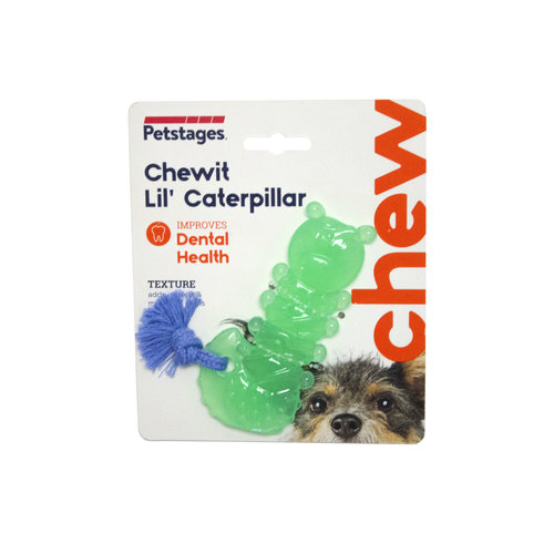 Petstages Chewit Lil' Caterpillar