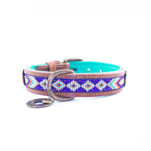 Dog With A Mission DWAM Stella Blue Hundehalsband