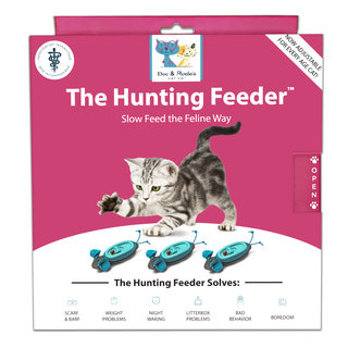 Doc & Phoebe's Indoor Hunting Feeder