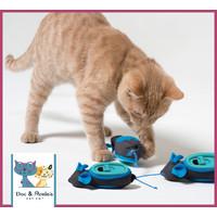 Doc & Phoebe's Indoor Hunting Cat Feeder