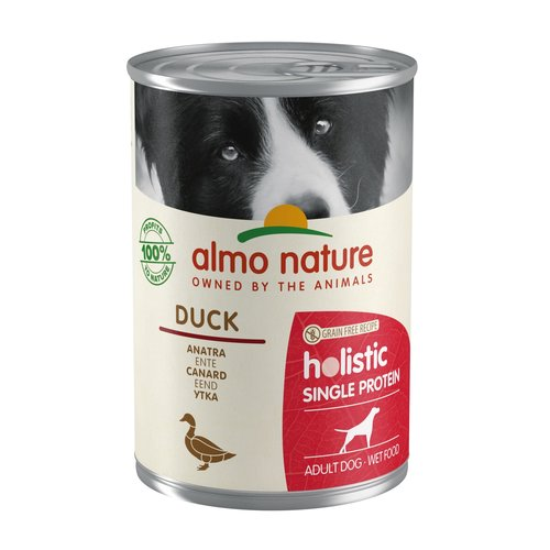 Almo Nature Almo Nature Hund Holistic Nassfutter Single Protein - 24 x 400g