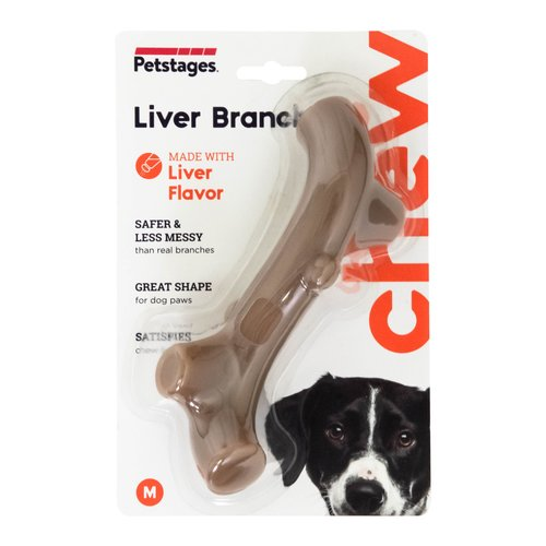 Petstages Liver Branch - Kauknochen mit Lebergeschmack
