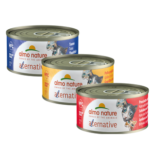 Almo Nature Kat Alternative Natvoer - 24 x 70g
