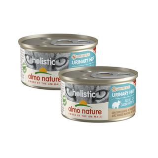 Almo Nature Katze Holistic Nassfutter - Urinary Help -24 x 85g