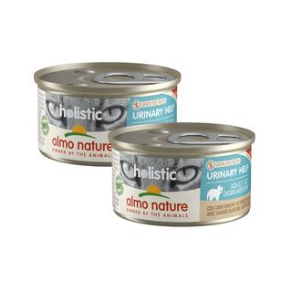 Almo Nature Katze Holistic Nassfutter - Urinary Help -24 x 85g