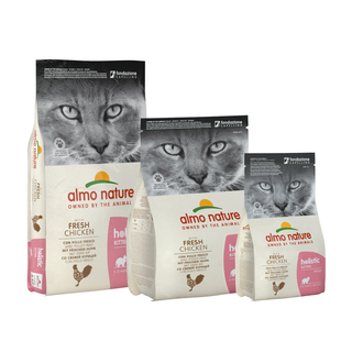 Almo Nature Katze Holistic Trockenfutter -  Kitten - mit Huhn