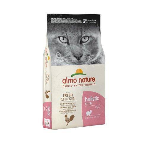 Almo Nature Almo Nature Katze Holistic Trockenfutter -  Kitten - mit Huhn
