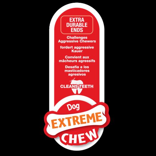 Nylabone Nylabone Extreme Chew Barbell Peanut Butter Large