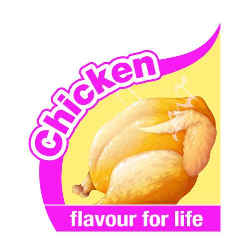 Nylabone Nylabone Moderate Dental Chew Chicken