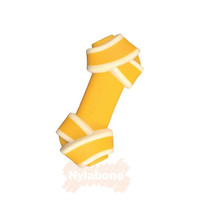 Nylabone Nylabone Puppy Chew Rawhide Knot Beef X-Small