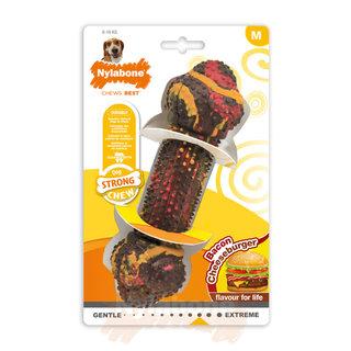 Nylabone Strong Chew Bacon Cheeseburger