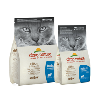 Almo Nature Cat Holistic Dry Food - Sterilised