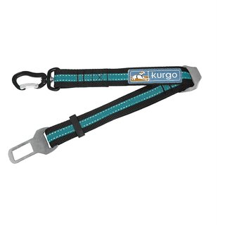 Kurgo - Direct to Seatbelt Swivel Tether - Blauw