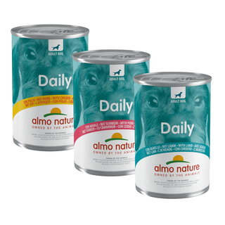 Almo Nature Dog Daily Menu Wet Food - 24 x 400g