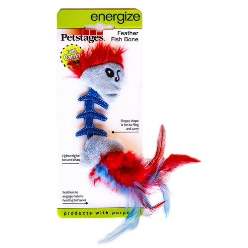 Petstages Petstages Feather Fish Bone