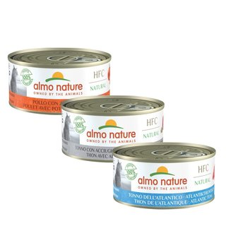 Almo Nature Cat HFC Wet Food - Natural - 24 x 150g