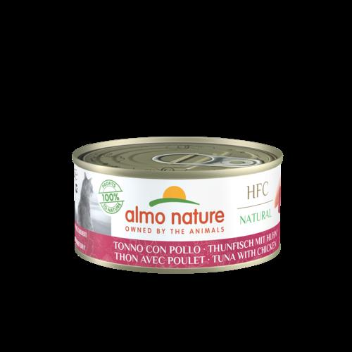 Almo Nature Almo Nature Kat HFC Natvoer - Natural -  Blik - 24 x 150g