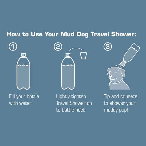 Kurgo Kurgo Mud Dog Travel Shower