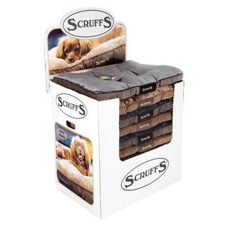 Display Scruffs Chester Mattress Graphite/Chocolate (16st)