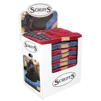 Scruffs® Display Scruffs Highland Mattress Blue/Red (16st)
