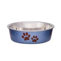 Loving Pets Loving Pets Bella Bowl - Blueberry