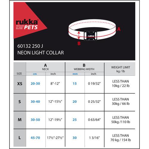 RukkaPets RukkaPets Neon Light Collar