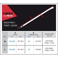 RukkaPets RukkaPets Twist Adjustable Leash