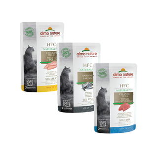 Almo Nature Cat HFC Plus Wet Food - 24 x 55g