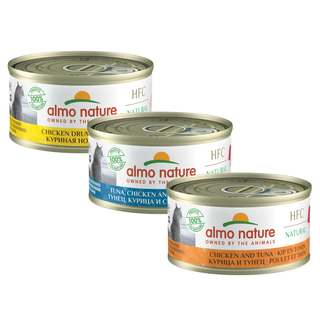Almo Nature Katze HFC Nassfutter - Natural - 24 x 70g