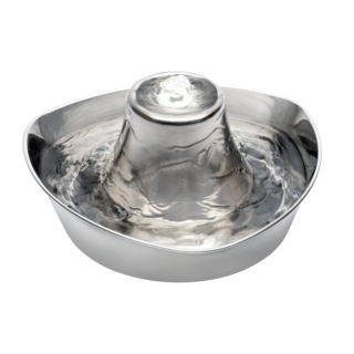 Drinkwell® Seaside Stainless Steel Pet Fountain 1.8L